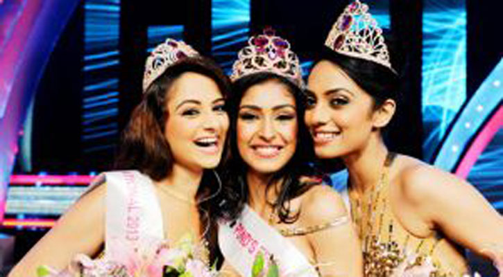Nabhanita Kaur Winner 50th Miss India Contest-2013