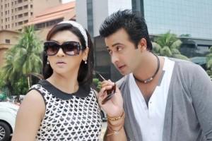 Joya Ahsan & Shakib Khan Movie Purno Dorgo Prem Kahini