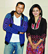 Mahfuz Ahmed with mousumi nag