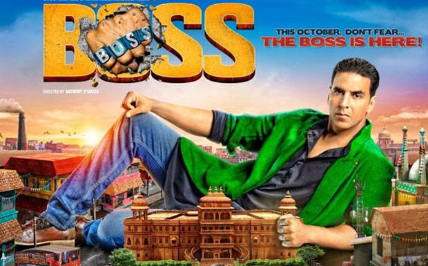 The Big Poster Of Akshay Kumar Movie Boss