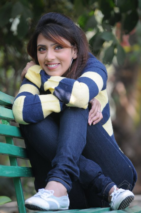 Popular TV And Film Actress Bidya Sinha Saha Mim picture