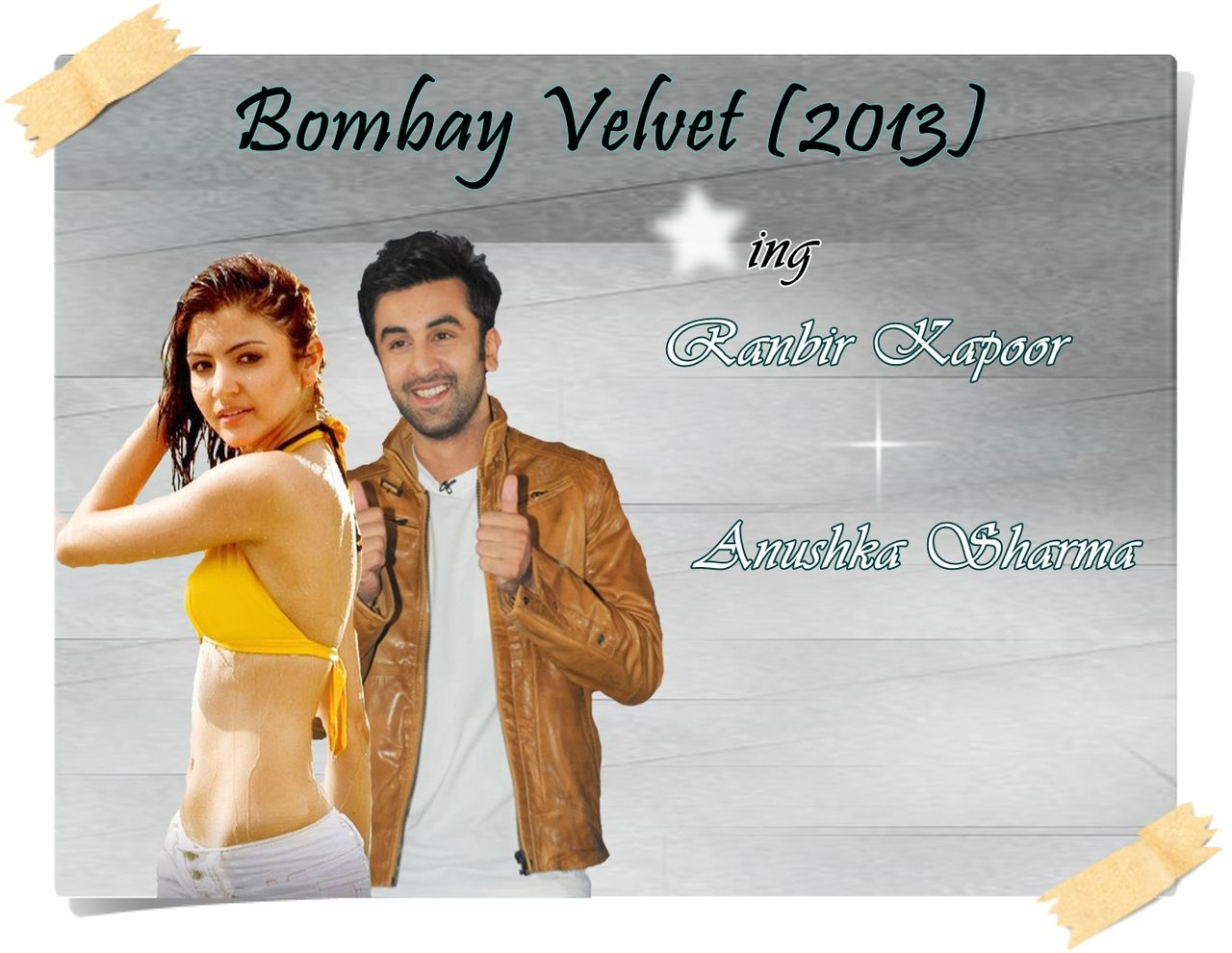 Awe Inspiring Bombay Velvet 2014 Hindi Movie By Ranbir Kapoor Anushka Cine Hairstyles For Men Maxibearus