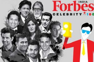 Shahrukh Khan Top of Indian's Forbes Celebrity- 100