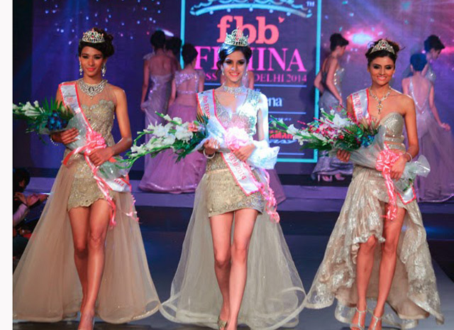 Femina Miss India 2014 Won The Crown Of Delhi Koyal Rana