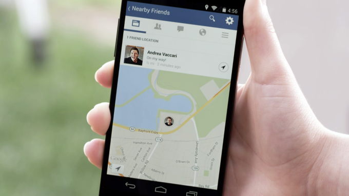 Facebook Adds New Mobile Feature Nearby Friends