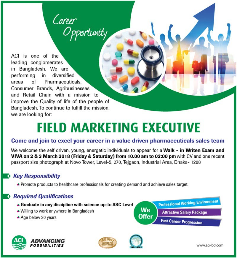 Download ACI Limited Job Circular 2018