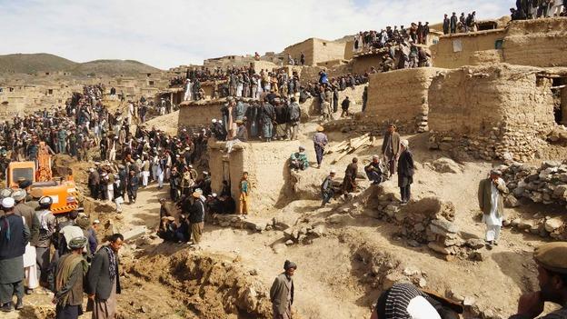 Landslide death reached 2100 in Afghanistan