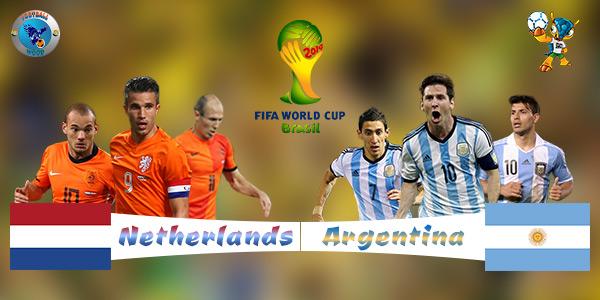 Argentina VS Netherlands 2nd Semi Final World Cup Match 2014